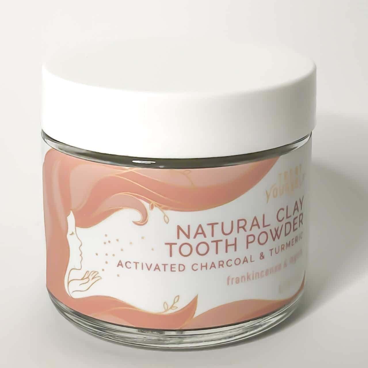 treat yourself natural clay toothpowder