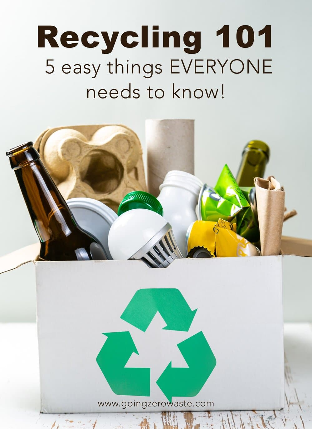 Box of Recyclables