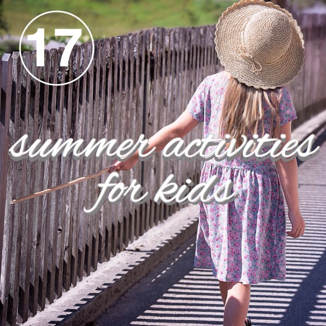 Zero Waste Challenge Day 17: Zero Waste Summer Activities for Kids