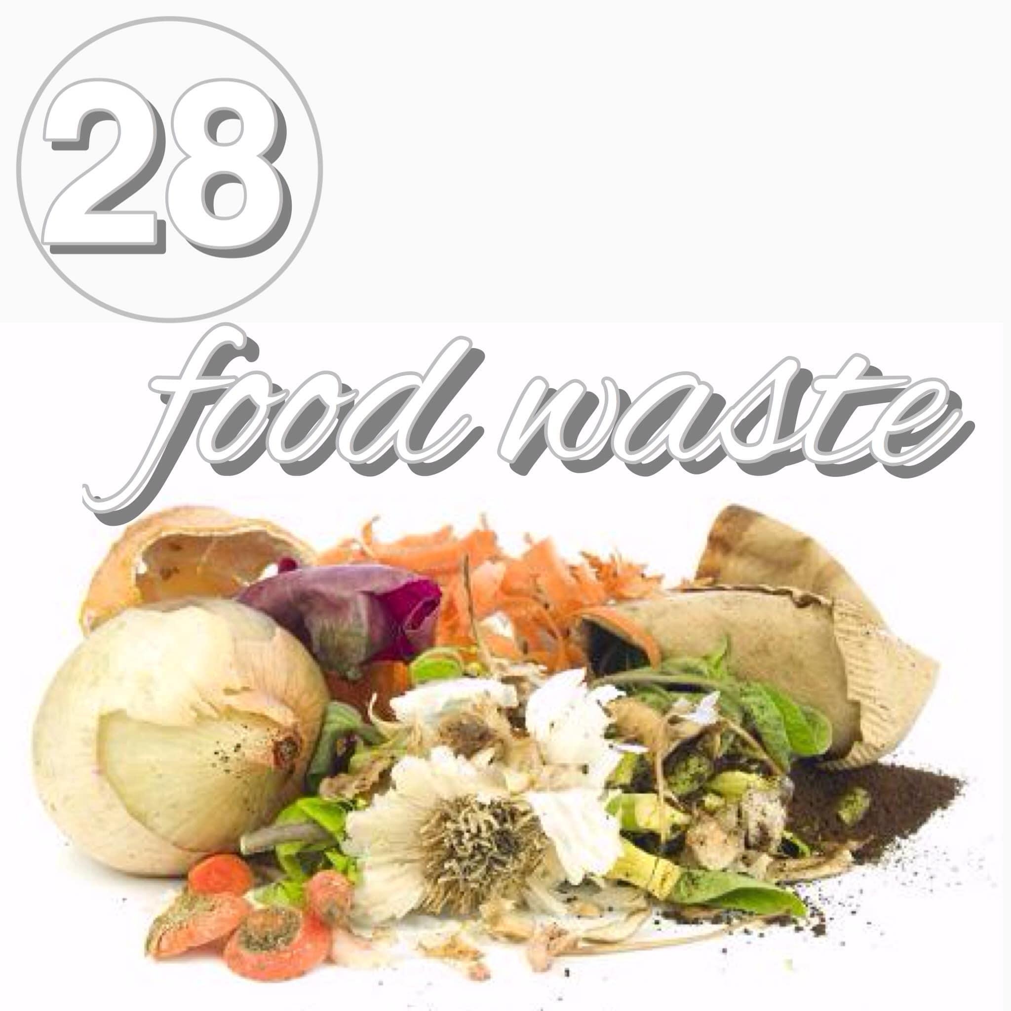 Zero Waste Challenge Day 28: Food Waste