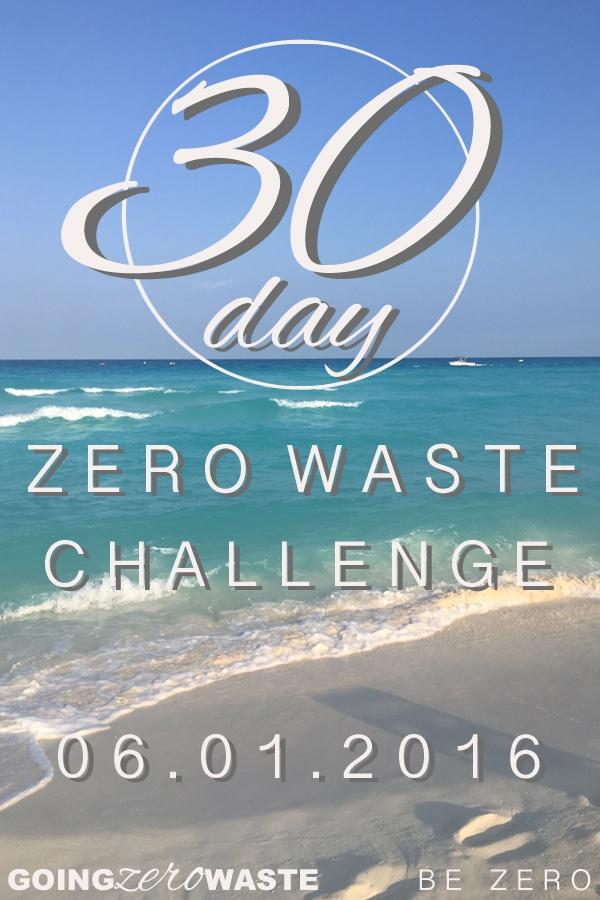 30 Day Zero Waste Challenge