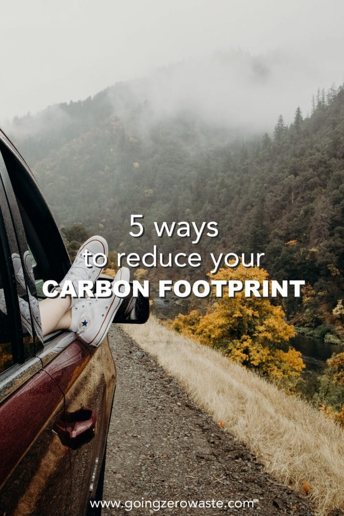 5 Ways to Reduce Your Carbon Footprint