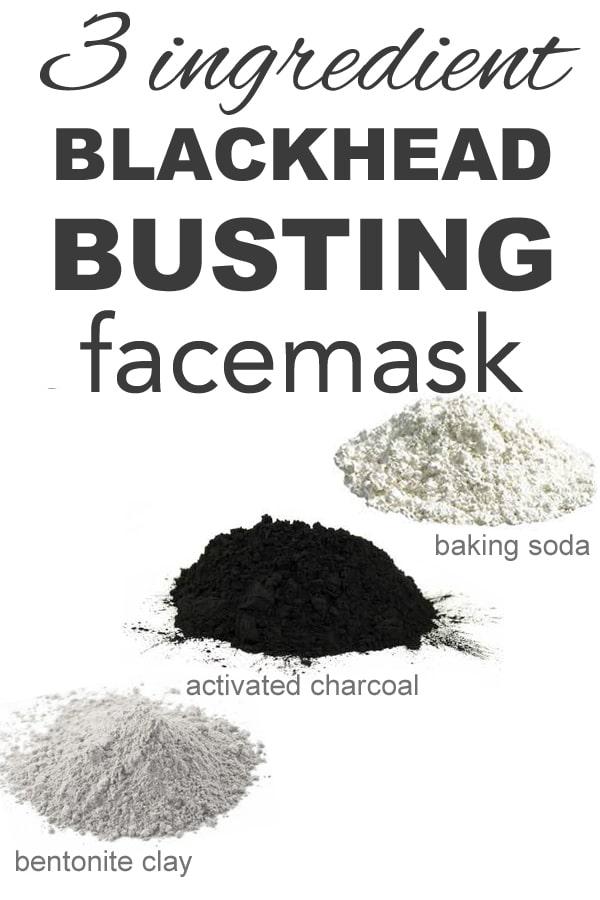 3 ingredient blackhead busting face mask