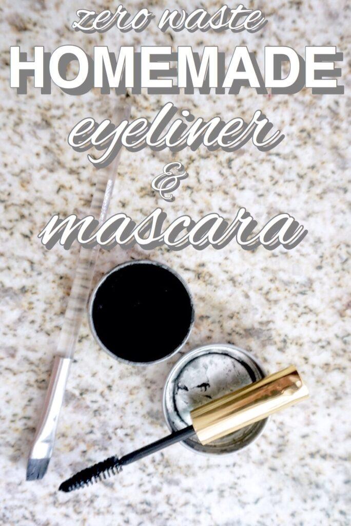 Zero Waste Eyeliner and Mascara