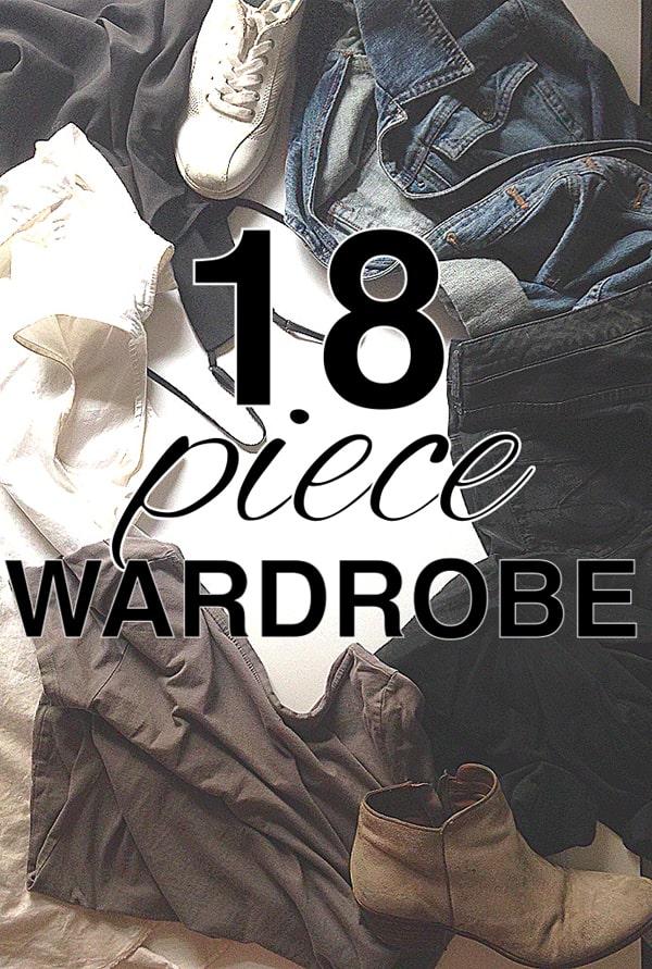 18 Piece Wardrobe