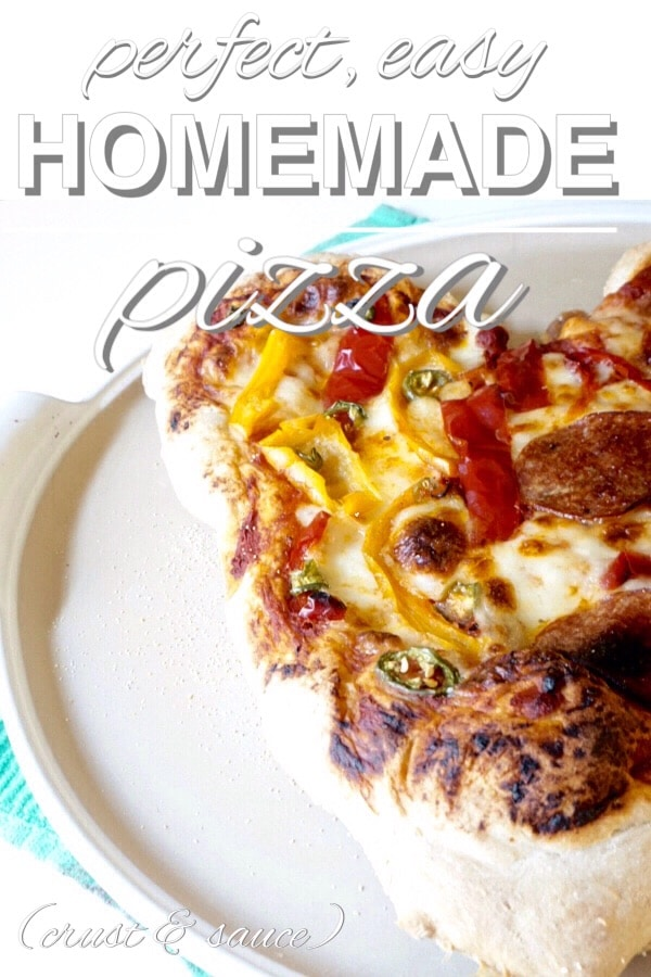 Perfect, Easy, Homemade Pizza Dough