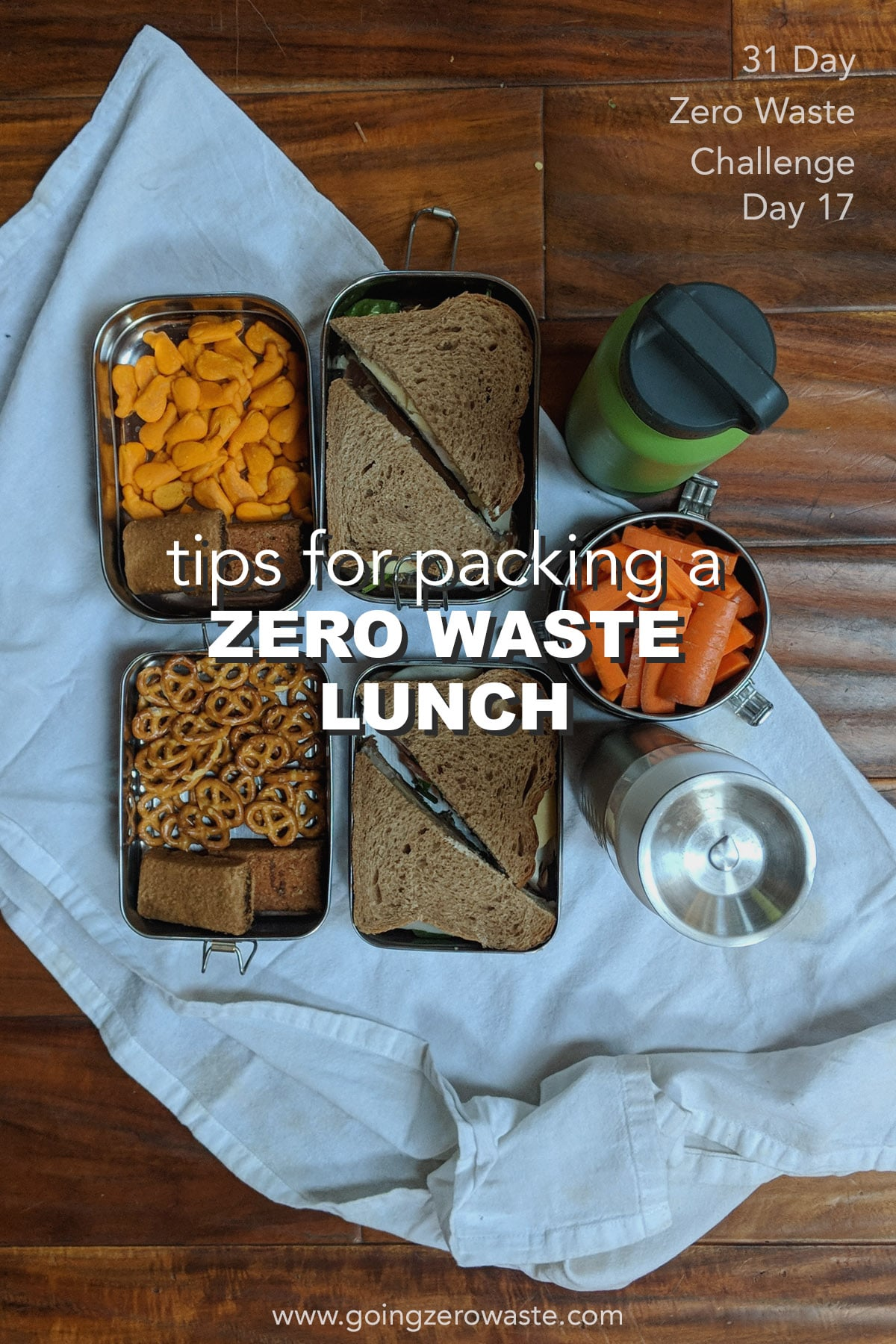 Pack a Zero Waste Lunch - Day 17 of the Zero Waste Challenge