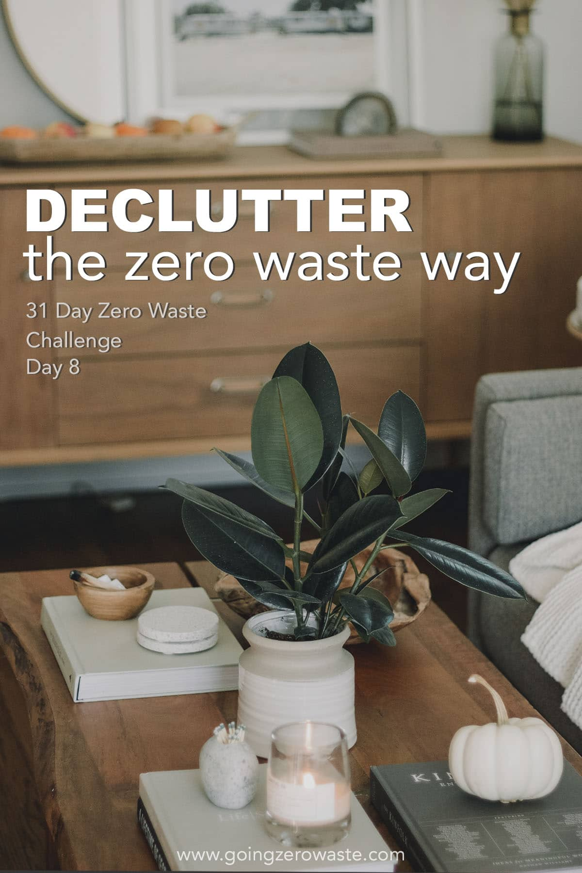 Declutter Your Life - Day 8 of the Zero Waste Challenge