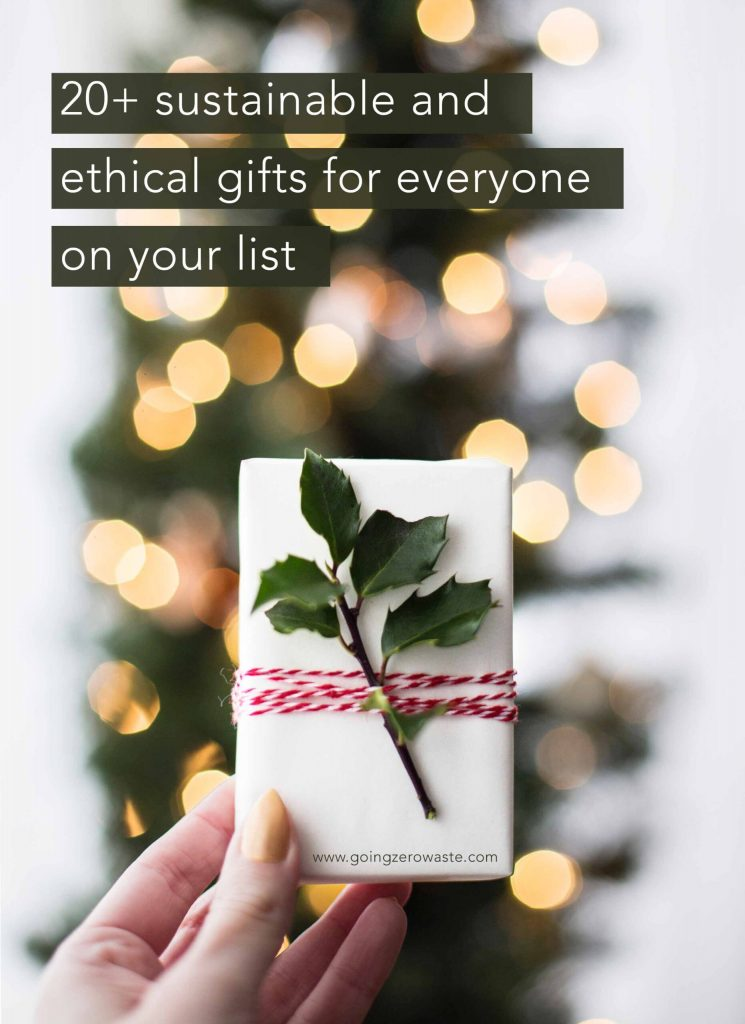 20+ Sustainable Ethical Gifts for Everyone on Your List