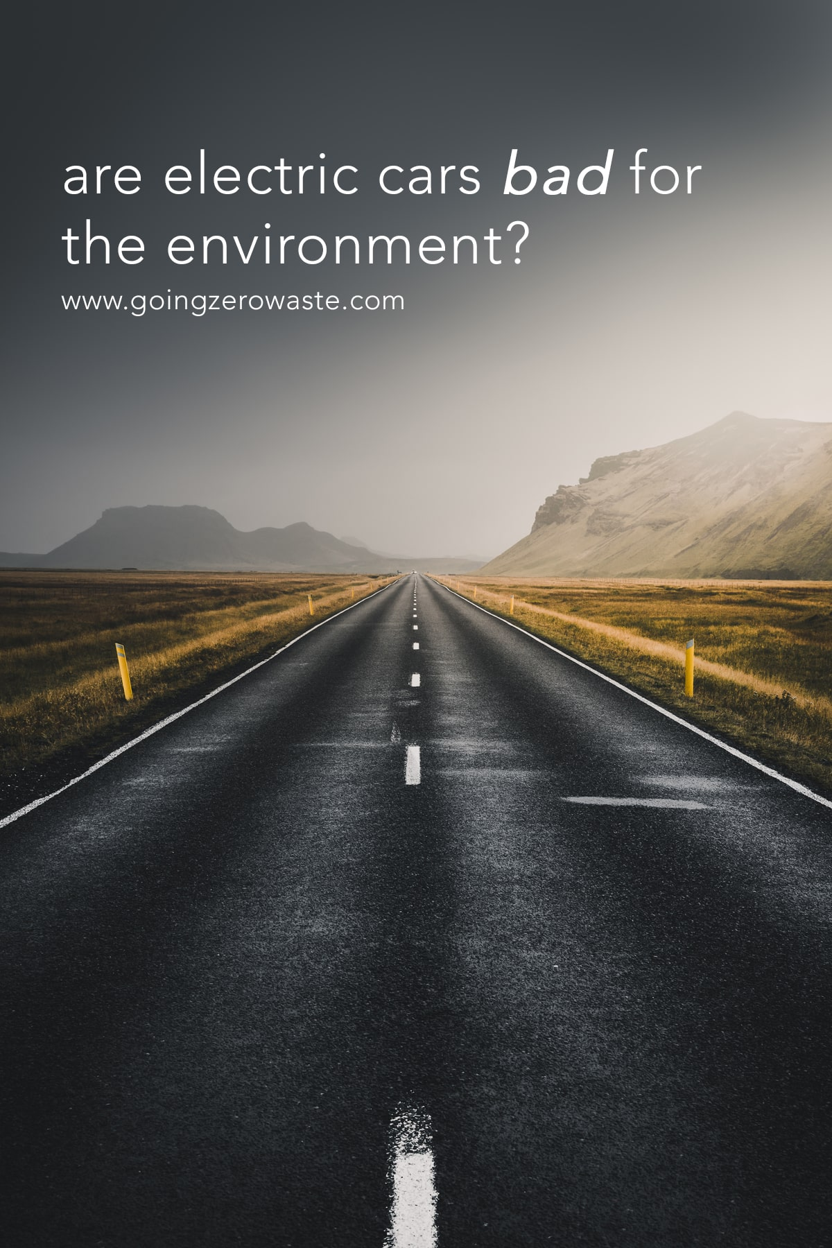 Are Electric Cars Bad for the Environment?