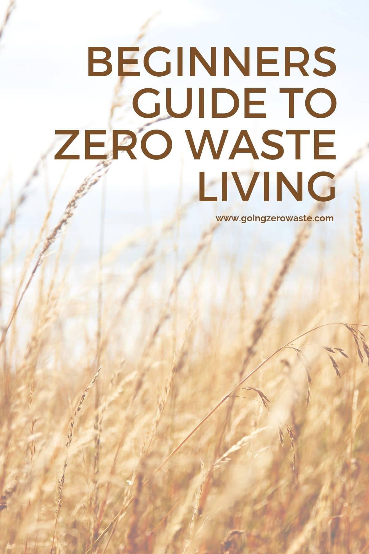 Four Tips for Starting a Zero Waste Lifestyle