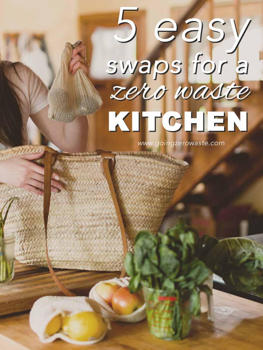 5 Easy Swaps for a Zero Waste Kitchen