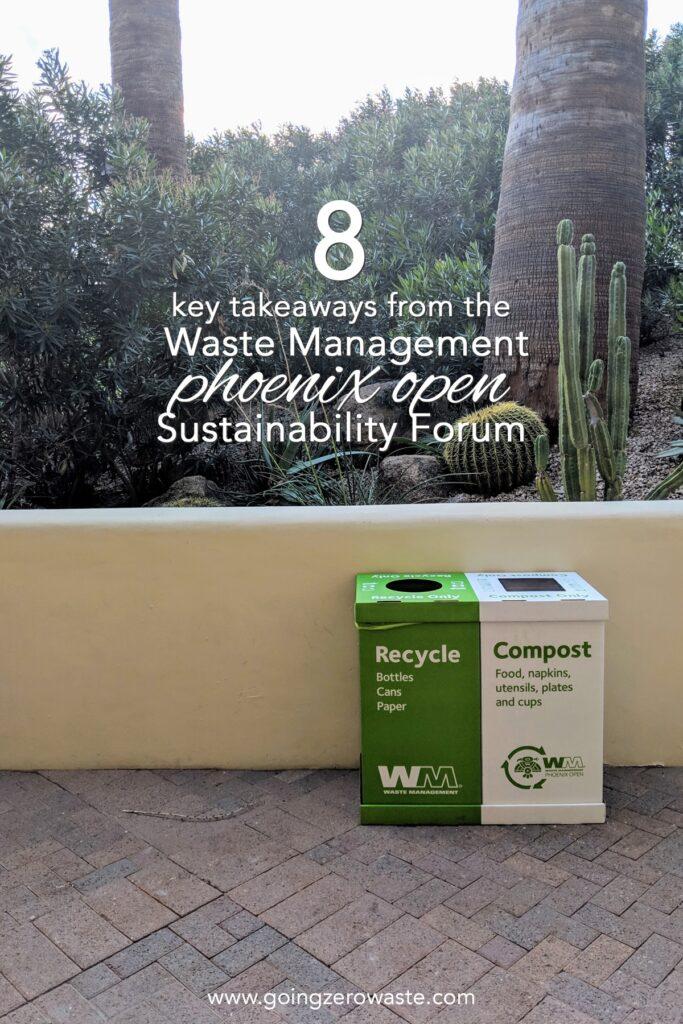 8 Key Takeaways from the Waste Management Phoenix Open Sustainability Forum