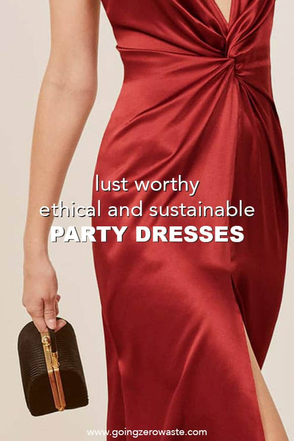 Lust Worthy Sustainable and Ethical Holiday Party Dresses