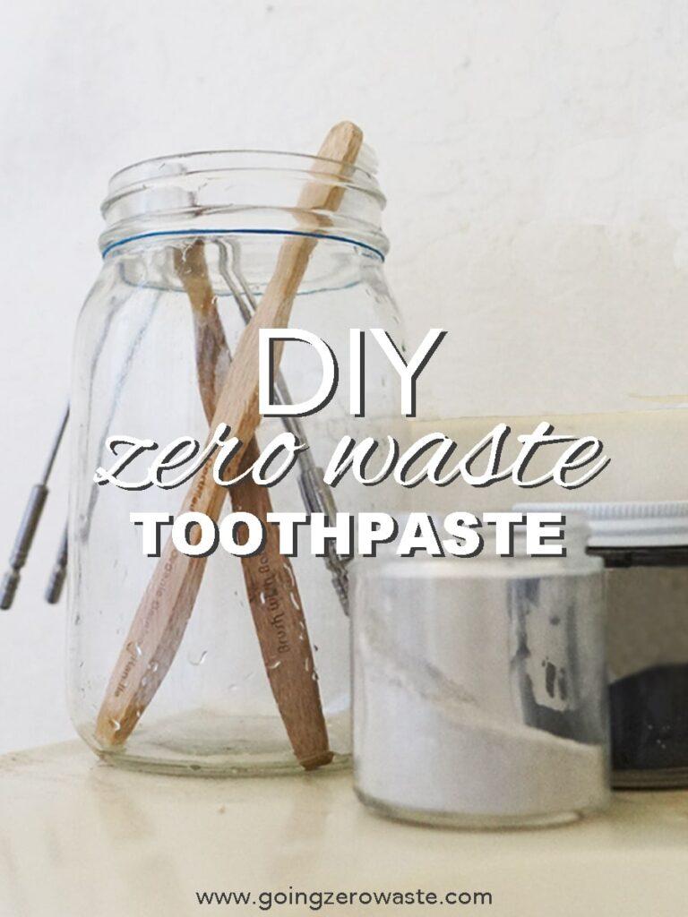 DIY, Zero Waste Toothpaste
