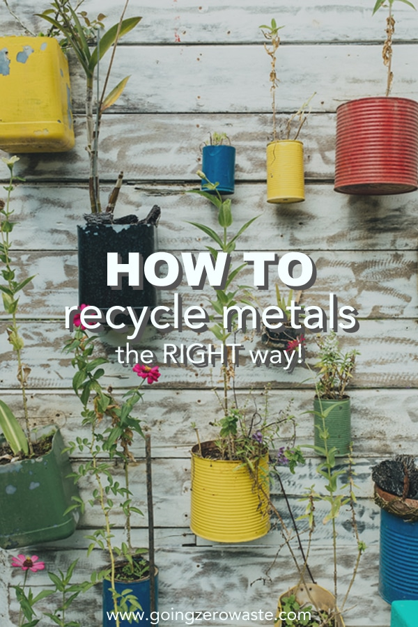 How to Recycle Metals the Right Way!