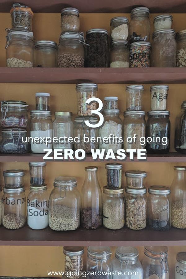 3 Unexpected Benefits of Going Zero Waste