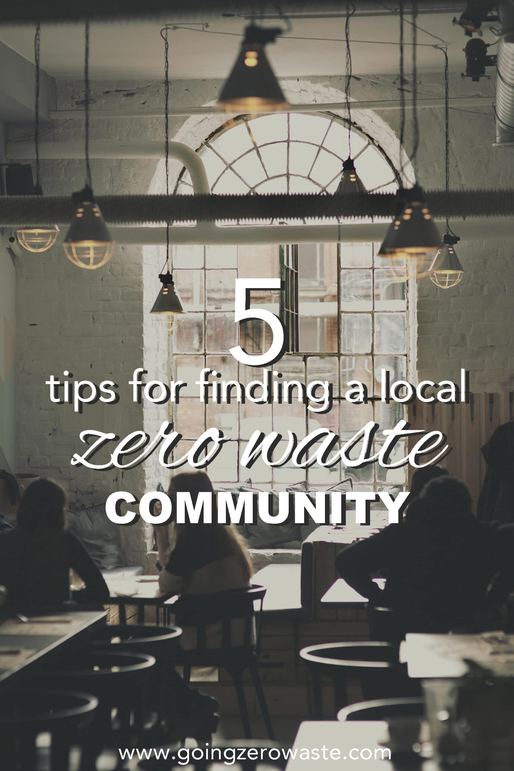How to Find a Local Zero Waste Community