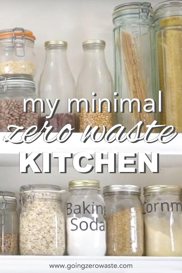 My Minimal (ish) Zero Waste Kitchen Tour