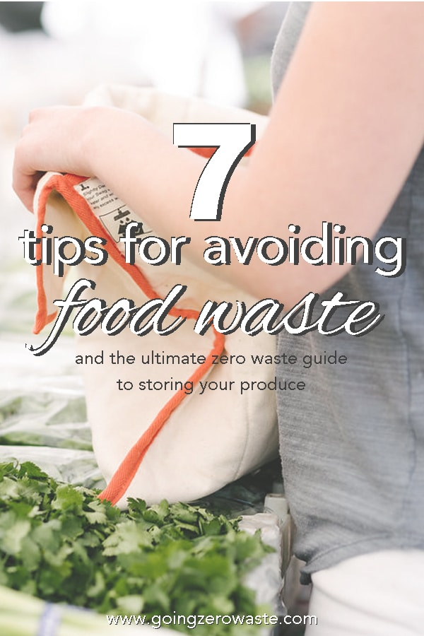 7 Ways to Avoid Food Waste