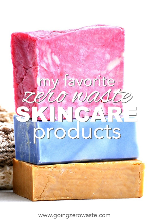 my favorite zero waste skin care products