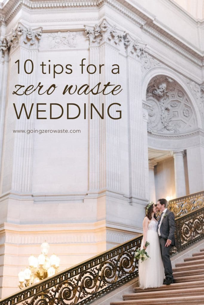 10 tips for a zero waste wedding