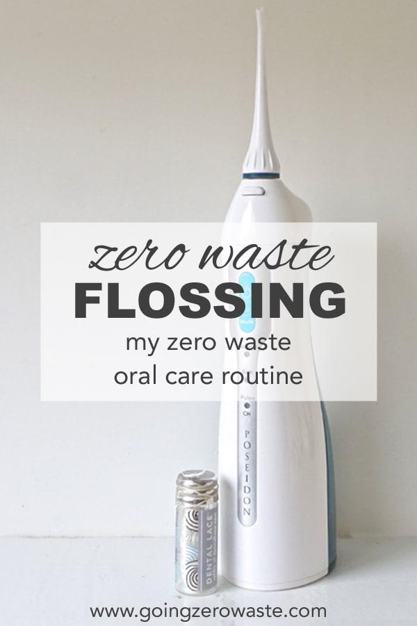 Zero Waste Flossing