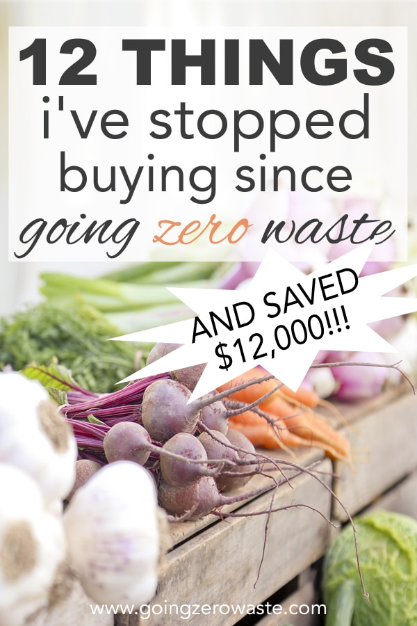 12 Things I've Stopped Buying Since Going Zero Waste