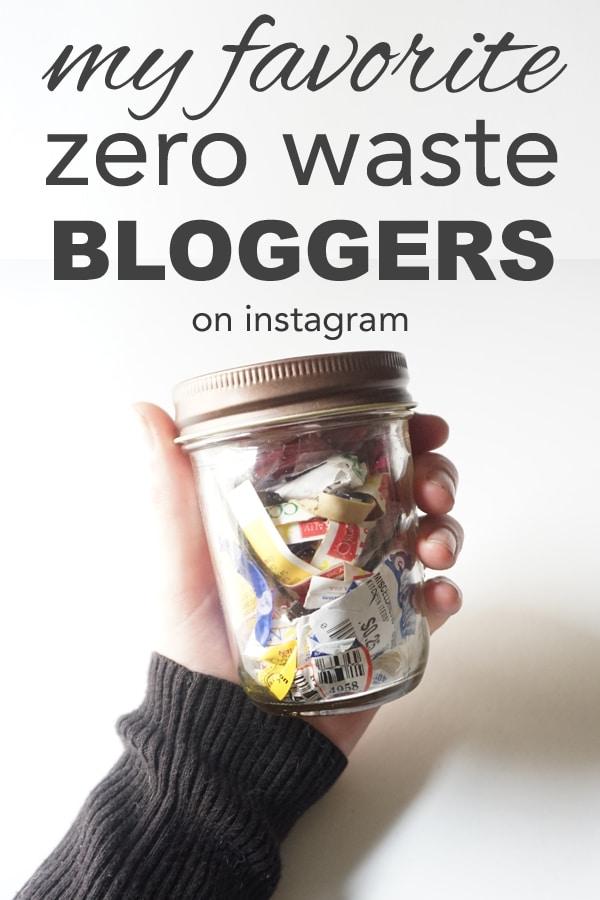 My Favorite Zero Waste Bloggers