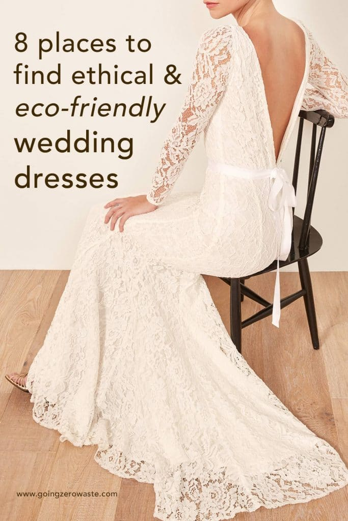 8 places to find ethical and eco-friendly wedding dresses