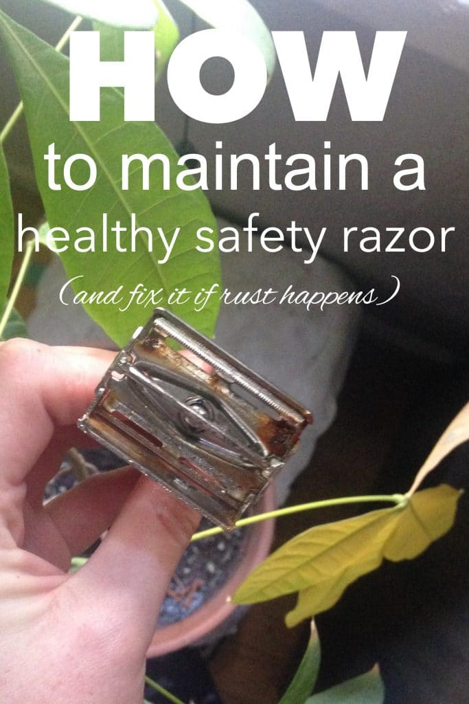How to Maintain a Healthy Safety Razor