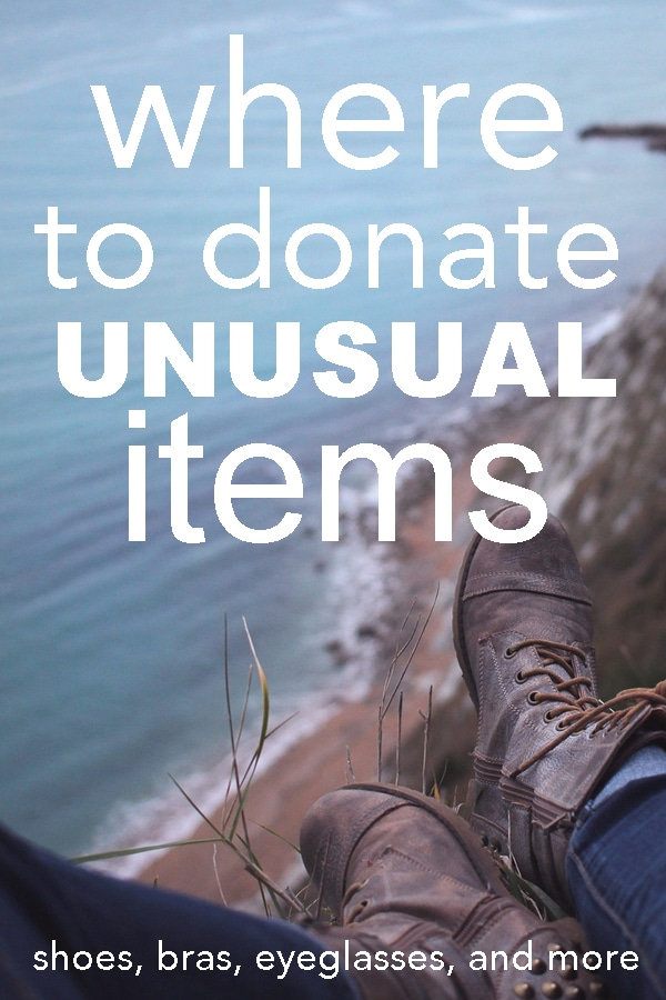 Where to Donate Unusual Items
