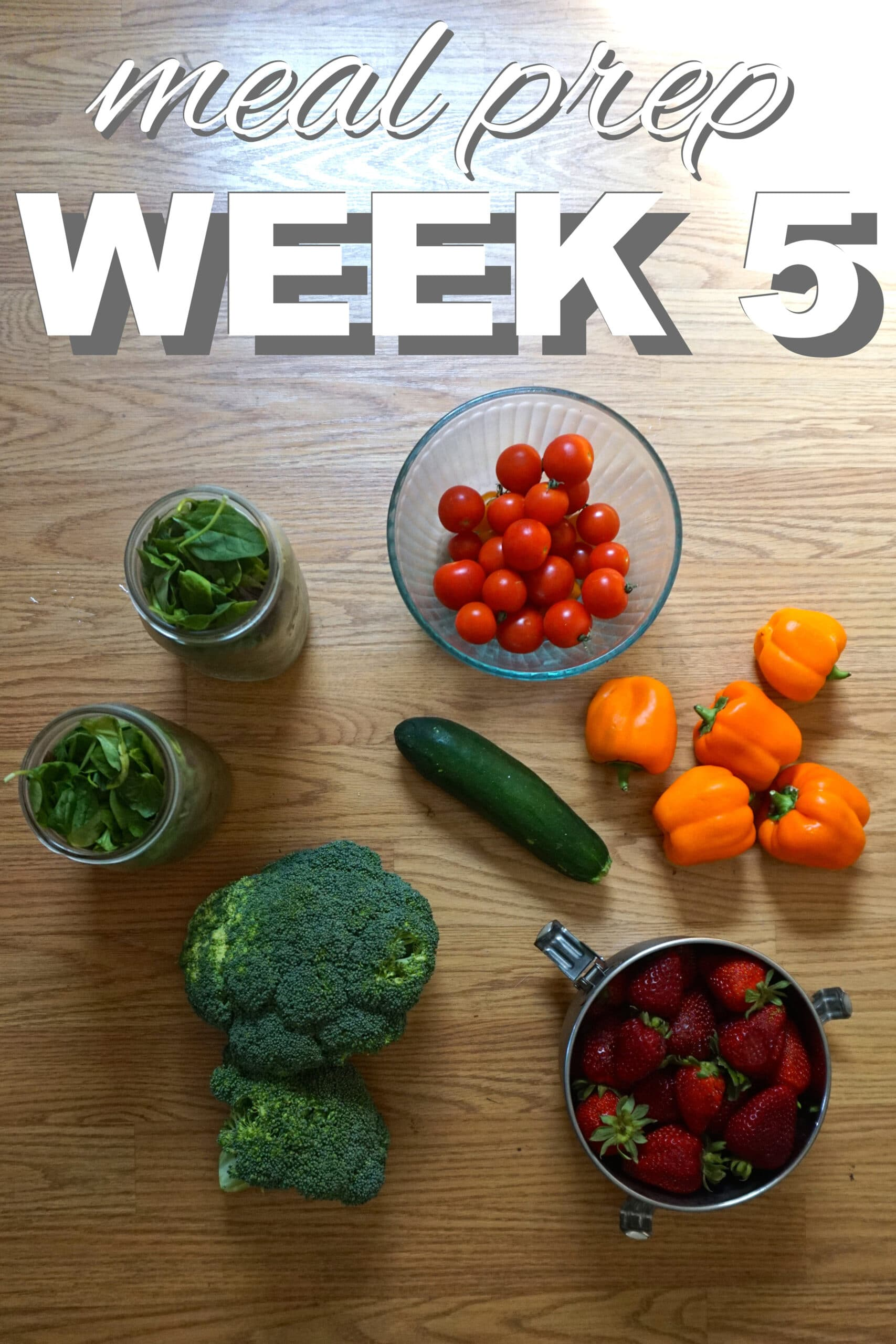 Zero Waste, Meal Prep Week Five
