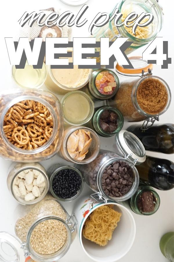 Meal Prep Week Four
