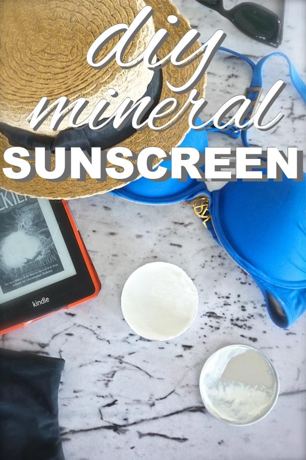DIY Mineral Sunscreen
