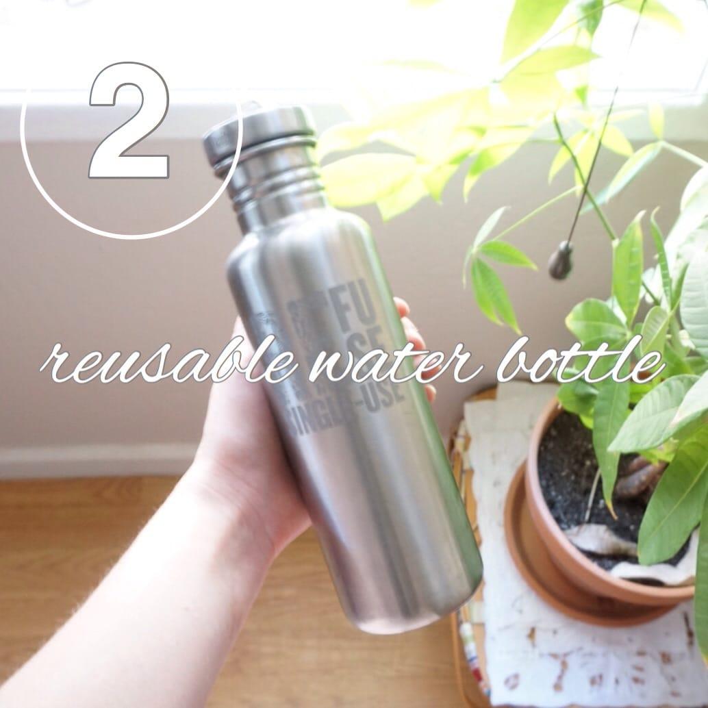Zero Waste Challenge Day 2: Reusable Water Bottle