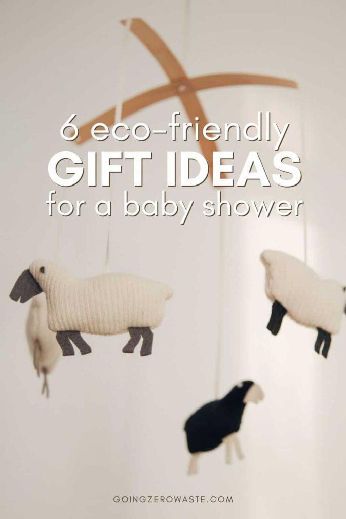 6 zero waste baby shower gift ideas
