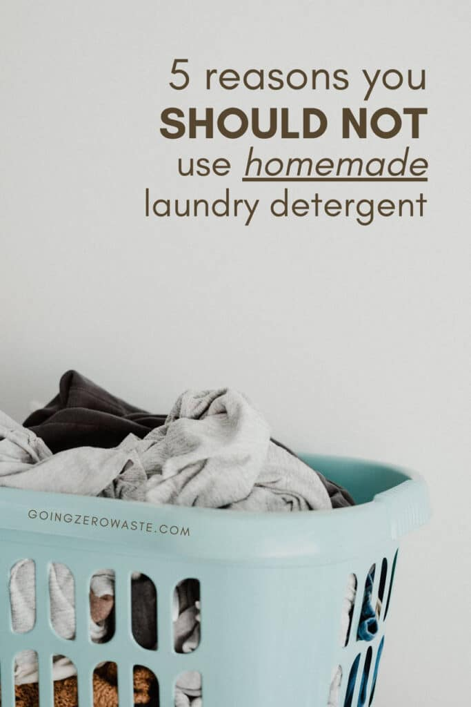 5 Reasons You Shouldn't Use Homemade Laundry Detergent