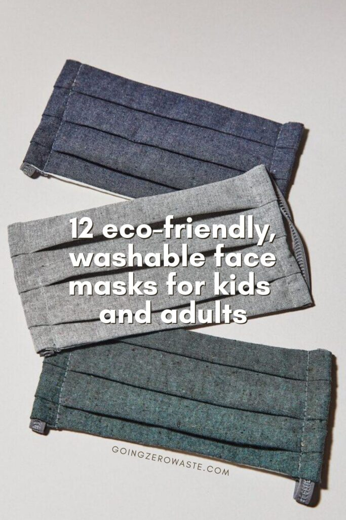 12 eco-friendly and washable face masks for kids and adults