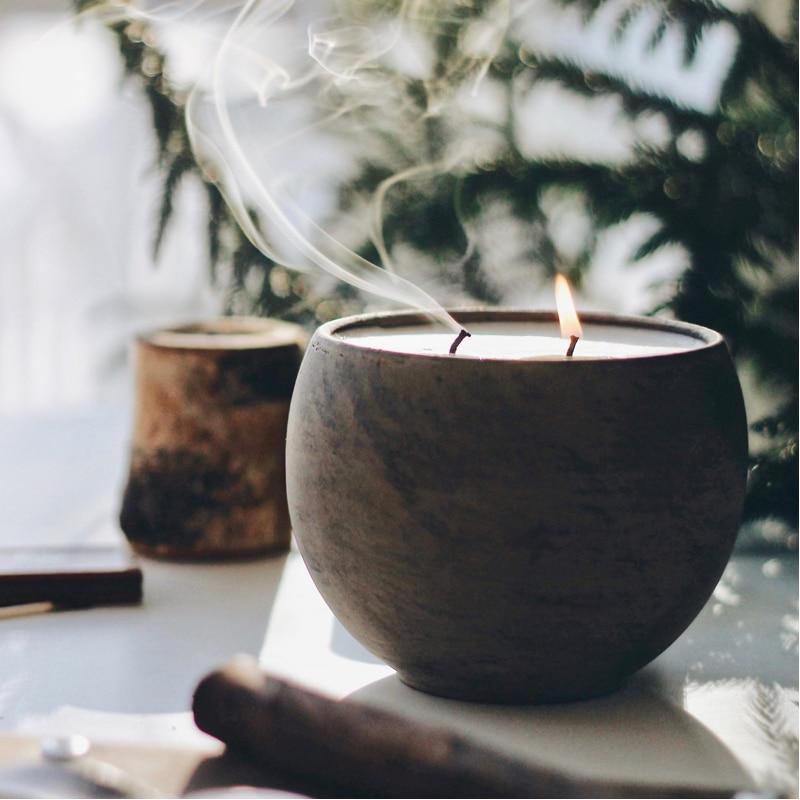 hyggelight eco-friendly, zero waste, non-toxic candles in pretty jars