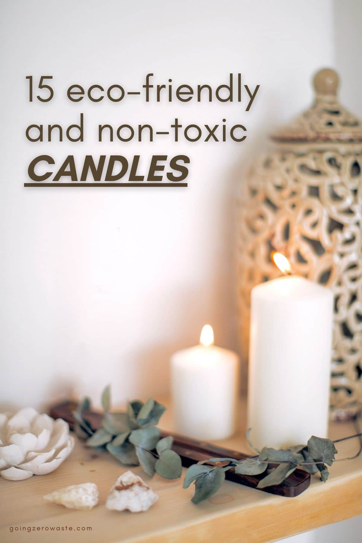 15 Eco-friendly, Non-Toxic Candles