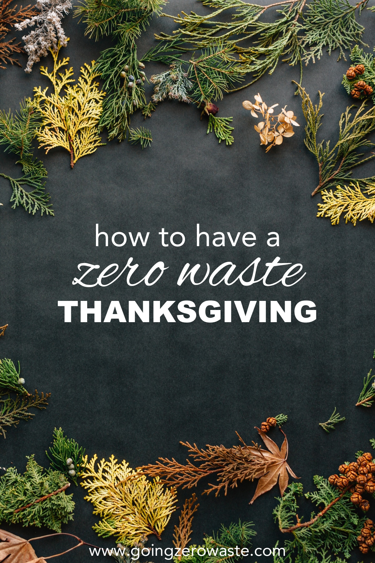 How to Have a Zero Waste Thanksgiving