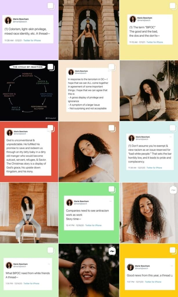 Marie Beecham / Eco friendly living: 15 people who will motivate you and inspire you! from www.goingzerowaste.com #zerowaste #ecofriendly #instagram #influencers #sustainableliving