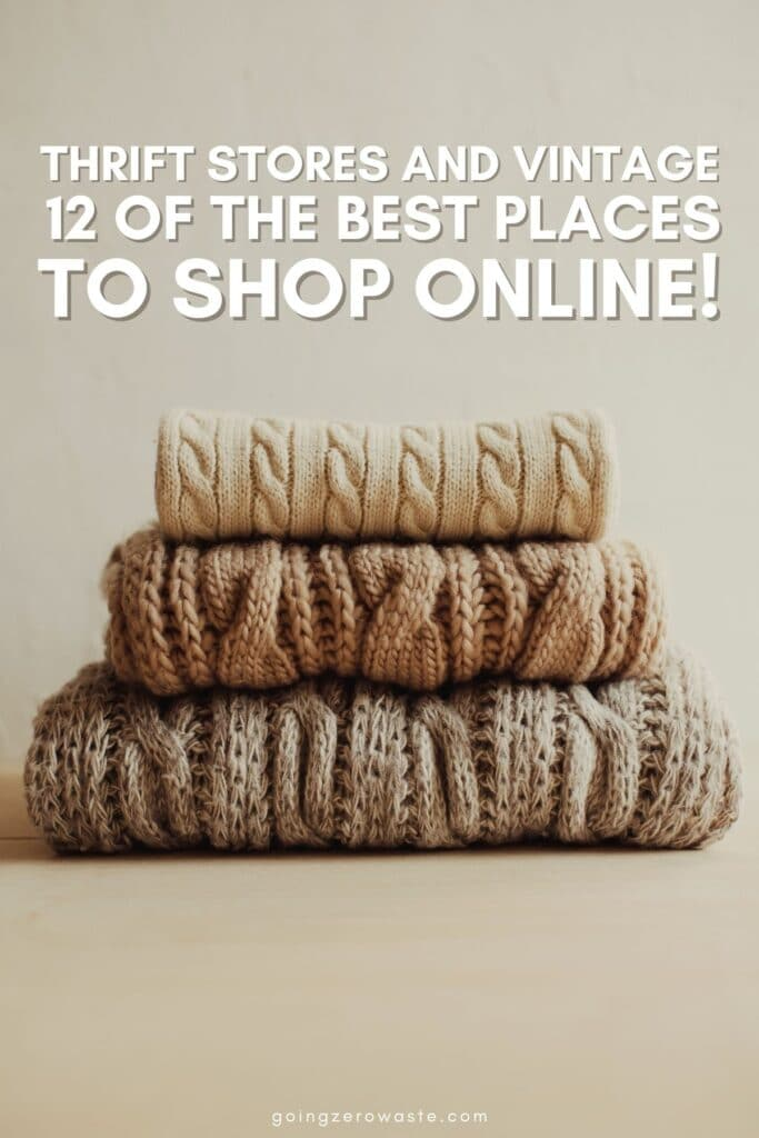 Thrift Stores and Vintage: 12 of the BEST secondhand stores online