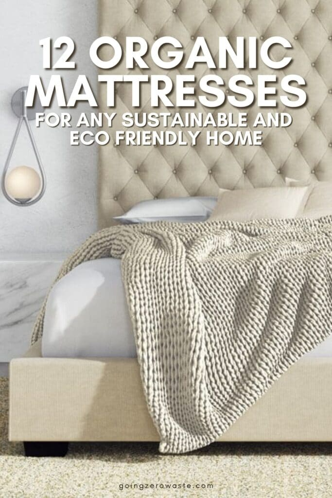all natural, sustainable and organic mattresses for any eco friendly home