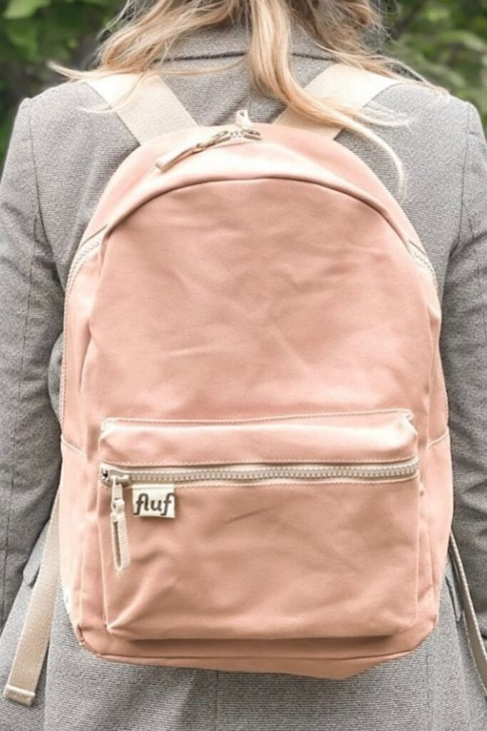 Fluf: 12 Eco Friendly Backpacks for School + Beyond