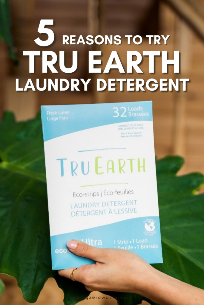 5 Reasons to Try Tru Earth Laundry Detergent