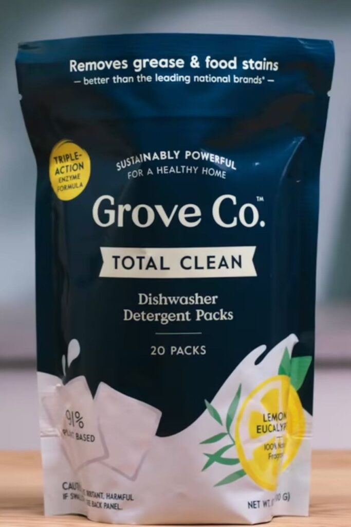 Grove Collaborative: The Best Non Toxic Dishwasher Detergent For Your Eco Friendly Home