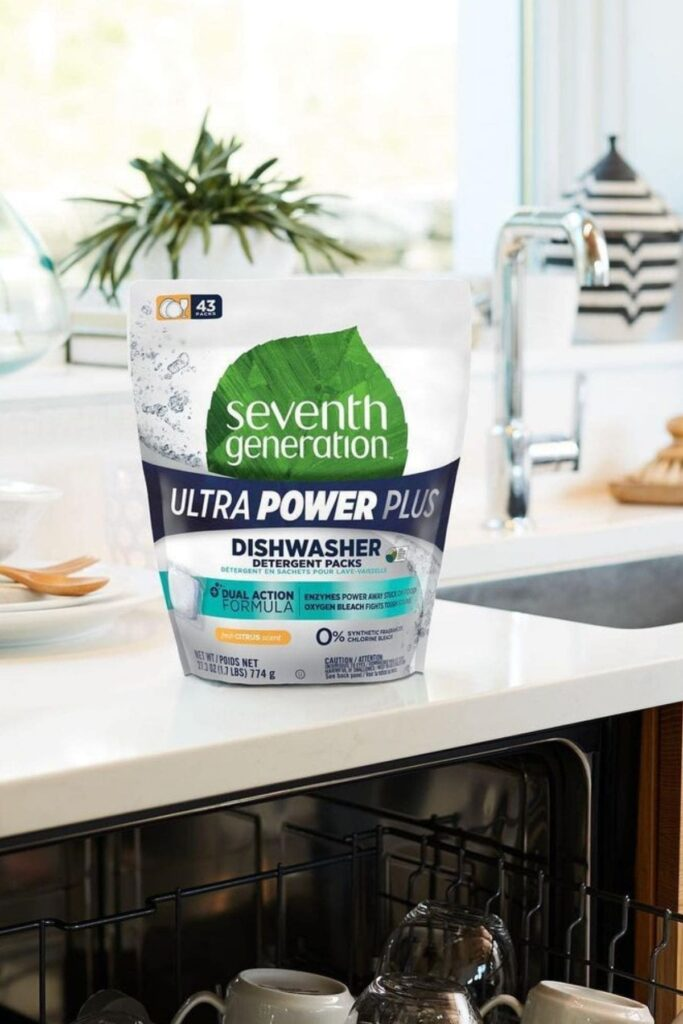 Seventh Generation: The Best Non Toxic Dishwasher Detergent For Your Eco Friendly Home