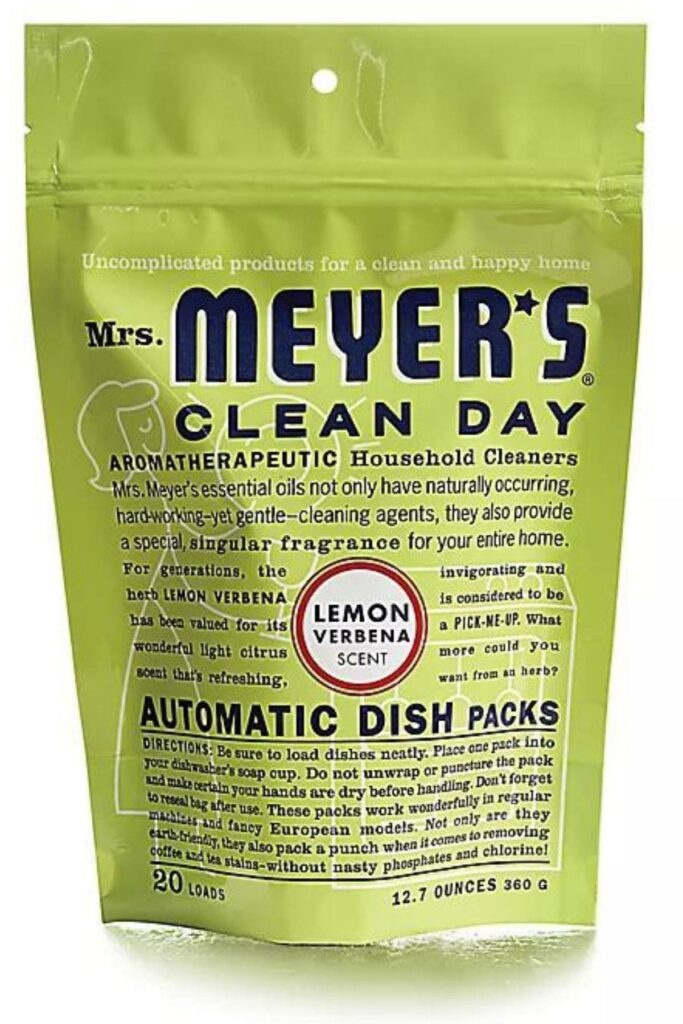 Mrs. Meyer's Clean Day: The Best Non Toxic Dishwasher Detergent For Your Eco Friendly Home